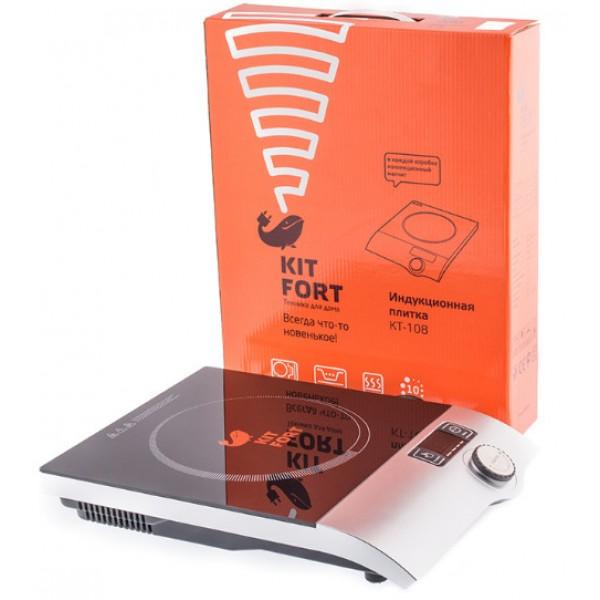 Индукционная плитка Kitfort КТ-108