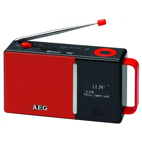 Радиоприемник AEG DAB 4158 rot