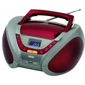 Аудио магнитола AEG SR 4358 красный