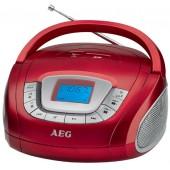 Аудио магнитола AEG SR 4373 rot