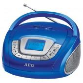 Аудио магнитола AEG SR 4373 blau
