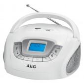 Аудио магнитола AEG SR 4373 weiss