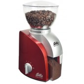 Кофемолка Solis Scala Coffee Grinder red