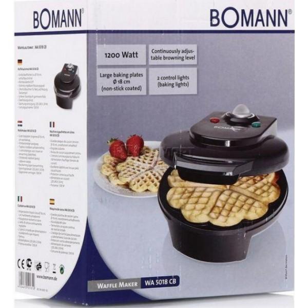 Вафельница Bomann