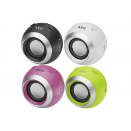 Bluetooth аудиосистема BSS 4817 розовая