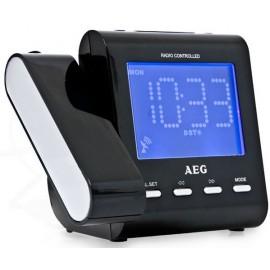 Радиочасы AEG MRC 4122 F schwarz
