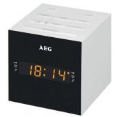 Радиочасы AEG MRC 4150 weiss