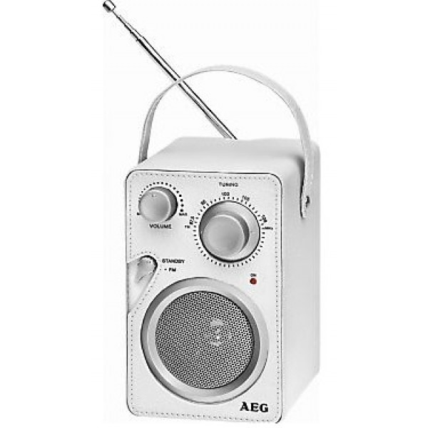 Радиоприемник AEG MR 4144 weis Aux-In