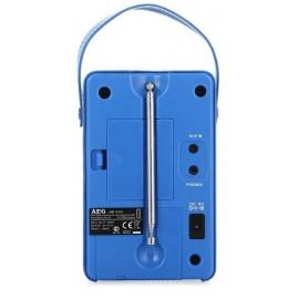 Радиоприемник AEG MR 4144 blau Aux-In