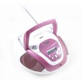 Аудио магнитола AEG SR 4339 weis-rosa