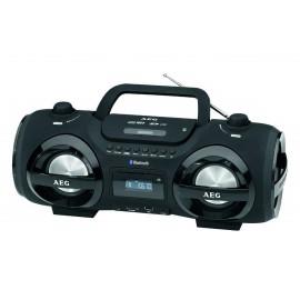 Аудио магнитола AEG SR 4359 BT чёрный