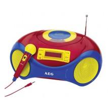 Аудио магнитола AEG SR 4363 bunt