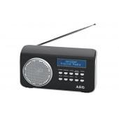 Радиоприемник портативный AEG DAB 4130 schwarz