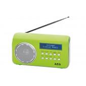 Радиоприемник портативный AEG DAB 4130 grun