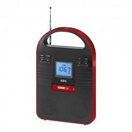 Радиоприемник AEG MMR 4128 schwarz-rot