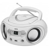 Аудио магнитола AEG SR 4374 weiss