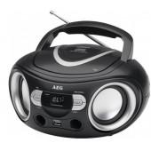 Аудио магнитола AEG SR 4374 schwarz