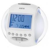 Радиочасы AEG MRC 4117 белый