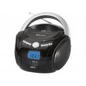 Аудио магнитола AEG SR 4348 BT чёрный